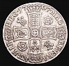 Crown 1707 Roses and Plumes ESC 102 Nearer VF than Fine