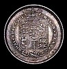 Sixpence 1825 I in GEOGIUS has no top left serif EF/GEF and nicely toned