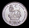 Sixpence 1826 Lion on Crown as ESC 1662 with obverse legend and date doubled UNC and nicely toned