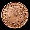 Canada Cent 1858 KM#1 NEF scarce