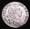 Sixpence 1698 Plumes ESC 1575 NEF the reverse with a few flecks of darker tone, Rare