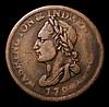 USA Unity Cent 1783 Breen 1188 Reverse lettering weakly struck, the portrait Near Fine