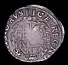 Sixpence Charles I S.2811/2813 mule of Type 3/3a, Obverse with inner circle, mintmark Bell Fine or near so, weakly struck in the centre, comes with two old collector's tickets