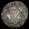 Sixpence Charles I Bridgnorth 1643 Mintmark B/-, possibly a contemporary copy, weight 2.09 grammes instead of 2.9, Near Fine creased and with a flan crack, in need of further research