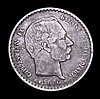 Denmark 10 Ore 1886 (h) CS KM#795.1 Fine, scarce