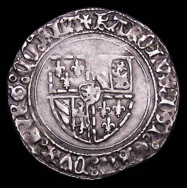 Flanders, Silver Plack Charles the Bold, Duke of Burgundy 1467-1477 VF on a full round flan, scarce