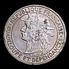 Guadeloupe Franc 1903 KM#46 EF with some contact marks, the obverse with some spots