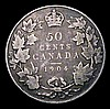 Canada 50 Cents 1904 KM#12 VG one of the key dates in the series