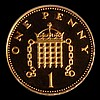 Decimal Penny 2002 Gold Proof (from the Golden Jubilee Proof Set) LCGS Variety 03 nFDC slabbed and graded LCGS 96, (6.98 grammes of .916 gold)