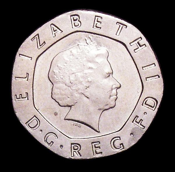 Decimal Twenty Pence undated (2008) S.4636A A/UNC