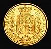 Sovereign 1886M Shield Reverse Marsh 67 GVF/NEF, Very Rare