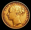 Sovereign 1876S George and the Dragon Marsh 115 Good Fine