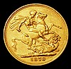 Sovereign 1878M George and the Dragon Marsh 100 About VF