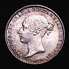 Sixpence 1863 ESC 1712 UNC or near so and attractively toned