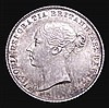 Sixpence 1859 ESC 1708 UNC and choice with a deep and colourful tone