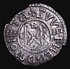 Penny, Anglo-Saxon Wulfred - Archbishop of Canterbury (805-832) Group III Bust extends to edge of coin S.889, North 240/1 moneyer Swefherd About VF, the edge with some small chipping between 12 and 2 o'clock and 7 and 9 o'clock, some stress cracks,