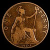 Penny 1903 Open 3 Freeman 158A dies 1+B, VG slabbed and graded LCGS 10, Ex-Dr.A.Findlow Hall of Fame Pennies