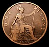 Penny 1897 Raised Dot after O of ONE LCGS Variety 03 VG, slabbed and graded LCGS 15, Ex-Dr.A.Findlow Hall of Fame Pennies