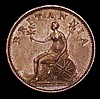 Farthing 1806 Bronzed Proof Peck 1388 KF13 EF with some edge nicks