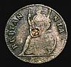 Farthing 1684 Charles II Peck 533 NVF/GF darkly toned, Very Rare