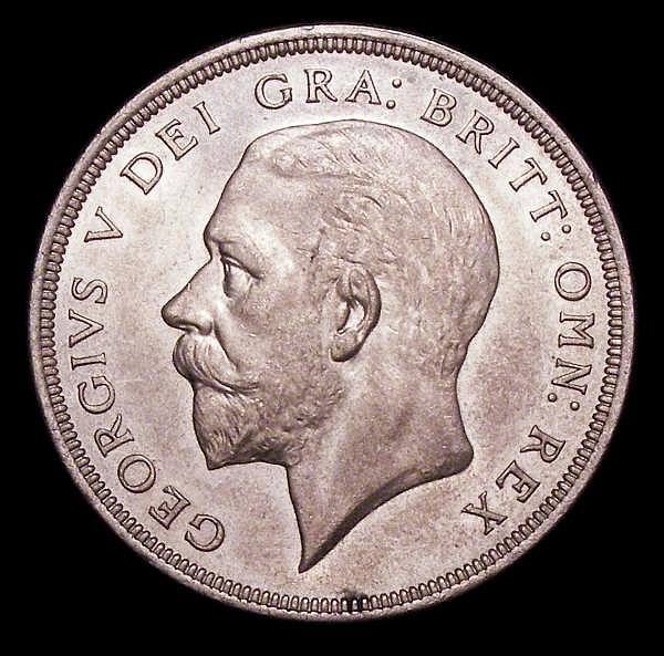Crown 1934 ESC 374 AU/UNC with prooflike fields, the obverse with a small tone spot below the bust, the reverse design appears lightly frosted, a most attractive example with much eye appeal