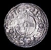 Penny Cnut Short Cross type S.1159, North 790, York Mint, moneyer Beorn Good Fine with uneven toning