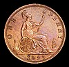 Penny 1893 3 over 2 Gouby BP1893B GVF cleaned and now retoning