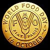 FAO 2011 World Food Day 16 October 11.9 grammes of 18 carat gold choice UNC in the brown FAO box of issue