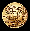 FAO World Food Summit 'Five Years Later' Rome 10-13 June 2002 11.7 grammes of 18 carat gold Matt finish Choice UNC in the brown FAO case of issue