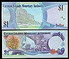 Cayman Islands $1 replacements (2) 2006 series Z/1 016787, Pick33r about UNC to UNC and 2010 issue Z/1 012905, Pick38r UNC