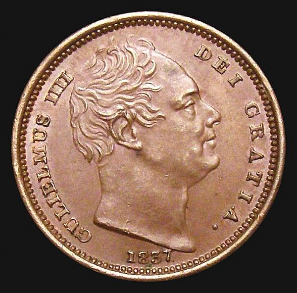 Half Farthing 1837 Peck 1476 A/UNC and attractively toned, slabbed and graded CGS 70, a scarce coin in high grade