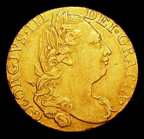 Guinea 1775 S.3728 Good Fine/Fine