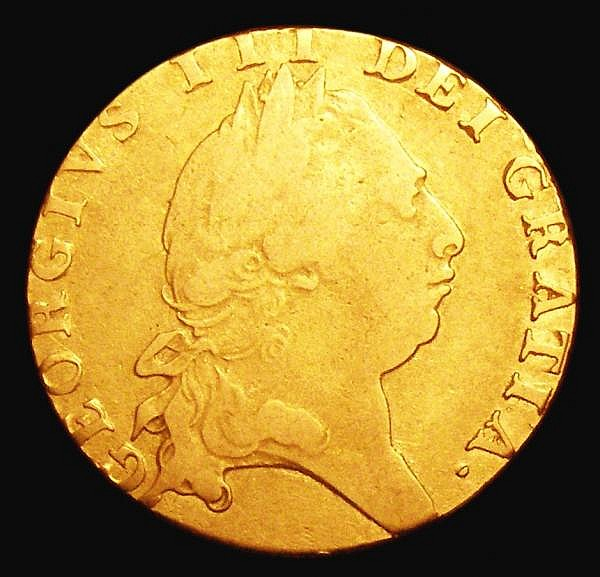 Guinea 1794 S.3729 About Fine
