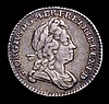 Sixpence 1723 SSC, Smaller lettering on Obverse ESC 1600 NVF and nicely toned