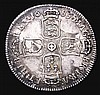 Shilling 1685 ESC 1068 NVF the reverse unevenly toned, Rare
