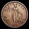 Australia Penny Token 1862 Victoria, W.Jamieson, Warrnambool KM#Tn136 GF/NVF, scarce