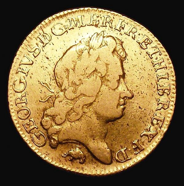 Guinea 1726 Elephant and Castle S.3634 Near Fine/Fine, overall of pleasing and collectable appearance for the grade, this type seldom seen in any grade