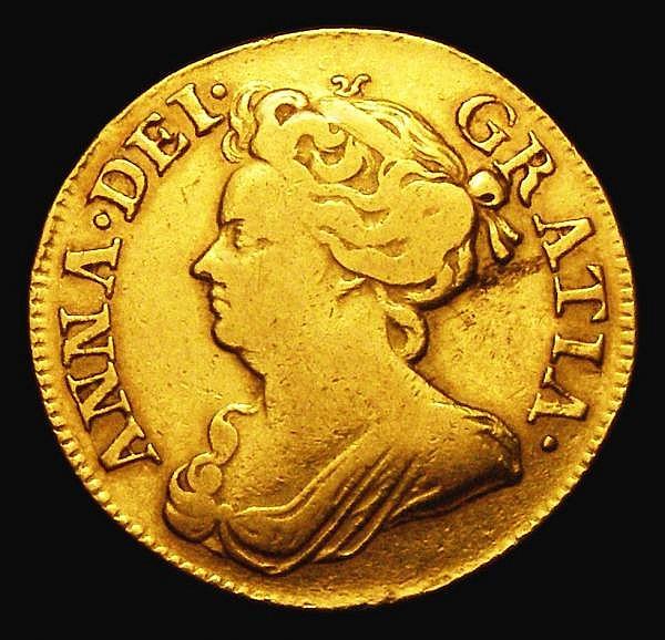 Guinea 1714 S.3574 Near Fine/Fine