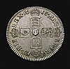 Sixpence 1688 Later shields, altered from Early shields ESC 1528 EF and with a most attractive grey tone, James II Sixpences seldom seen in this high grade