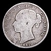 Halfcrown 1861 Fair, one of the 'missing' dates in the Young Head Halfcrown series, mentioned by way of footnote in ESC by Rayner in the 1969 edition who had heard of an example sold in a