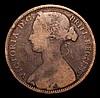 Penny 1874H Freeman 69 dies 6+I VG Rare