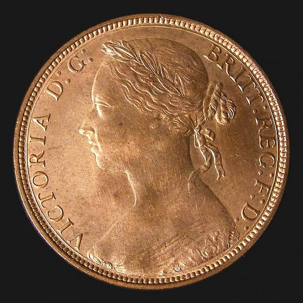 Penny 1881H Freeman 108 dies 11+M Choice UNC and lustrous, slabbed an graded LCGS 82, the joint finest of 16 examples thus far recorded by the LCGS Population Report