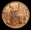 Penny 1881H Freeman 108 dies 11+M GEF with traces of lustre