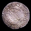 Groat Charles I Aberystwyth Mint S.2891 mintmark Book, VF nicely toned with a small edge crack by AVSP