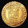 Crown of the Double Rose Henry VIII HK S.2273 mintmark Rose About VF with a small flan crack and near the rim at 4 o'clock, overall of pleasing and even appearance
