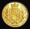 Sovereign 1847 Marsh 30 EF the reverse lustrous