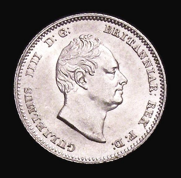 Groat 1836 ESC 1918 D: G: Davies 380 dies 1A UNC and lustrous with minor cabinet friction