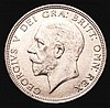 Florin 1932 ESC 952 NEF with a small spot on the bust, Very rare in higher grades