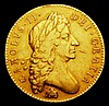 Five Guineas 1684 Elephant and Castle below bust TRICESIMO SEXTO edge S.3332 Good Fine/Fine the obverse with a small flan flaw in the right field