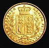 Sovereign 1875S Shield Reverse Marsh 72 VF/EF and lustrous